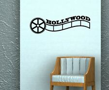Hollywood Kino Wandtattoo Wandaufkleber Kamera Wand Sticker Film Aufkleber 5S054