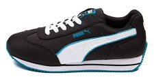 New PUMA STREET CAT Casual Women's SNEAKER Shoes All Sizes Black White Ocean