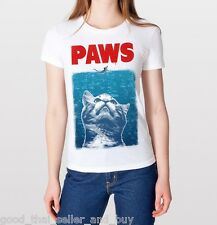 Crazy Cat Meow Paws Jaws Parody Funny Tumblr Swag Hipster Fashion T Shirt TShirt