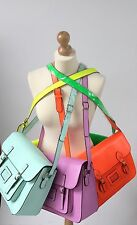 5 left! Reduced prices! Fashion Satchel neon Yellow Blue Pink Shoulder Bag