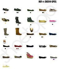 Wholesale Womens Shoes Lot - WEDGES Liquidation Pick Your Size w/ Various Styles