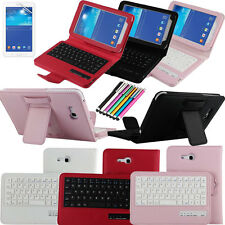 Removable Bluetooth Keyboard Case For Samsung Galaxy Tab 3 Lite 7.0'' T110/T111