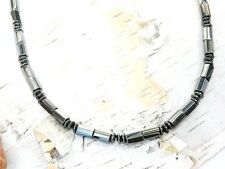 Men's Women's Powerful Magnetic Hematite THERAPY Necklace Bracelet Anklet 1 Row