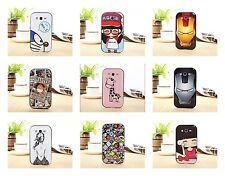 Cute Cartoon Anime Giraffe Girl Cover Case For Samsung Galaxy Grand Duos i9082