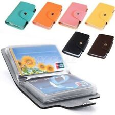 Hot Unisex ID Credit Bank Card Holder Wallet Purse Pocket Bag Case for 24 Cards