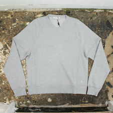 NEW Yves Saint Laurent Grey Crew Neck Sweatshirt GENUINE RRP: £260 BNWT