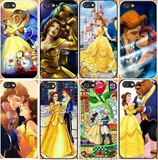 iPhone 5/5S hard case beauty and the beast-add message if need iphone 6 6 plus