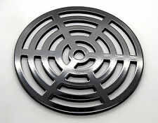 """8"""" Round Metal steel Gully Grid Heavy Duty Drain Cover like cast iron, stronger"""