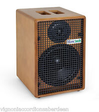 Musictech MT120 powered Speaker/Mixer for Musicians Wood or Black  MTC120111