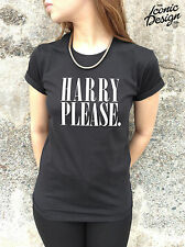 * HARRY PLEASE T-shirt Top 1D Niall Zayn Louis Liam Hipster Tumblr Tour Hipsta *