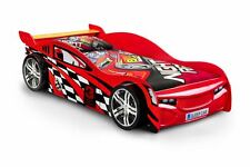 Happy Beds Scorpion Racer Bed Red High Gloss Lacquered Kids Sports Car New