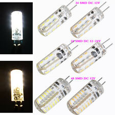 1/5/10PCS G4 2W LED Capsule Bulb Replace Halogen Chip DC 12V SMD LED Light Lamps
