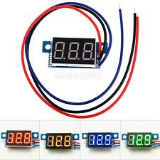 #gib New Direct Current DC 0.36Inch LED Digital Display Voltmeter Panel