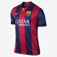 New authentic home FC Barcelona player version jersey / shirt 14 - 15 2015