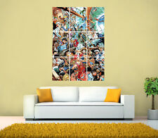 One Piece, Naruto, Classic Anime Characters GIANT Poster,Various sizes from A3