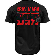 T-SHIRT THUMBSDOWN KRAV MAGA ! IDEAL FOR MMA, TRAINING, CASUAL WEARS! TS327 BLK