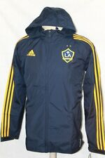 NWT ADIDAS LA GALAXY MLS RAIN RAINWEAR MEN'S JACKET COAT SIZE S M L XL 2XL XXL