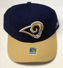 NWT NFL St. Louis Rams Reebok Fitted Cap Hat NEW!
