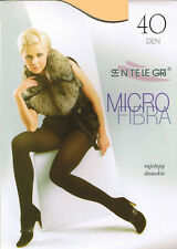 SENTELEGRI 40 DEN MICROFIBRE TIGHTS COLOUR ECRU