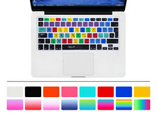 Spanish Silicone UK/EU Keyboard Cover skin For Macbook Pro Air Retian 13 15 17