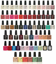 CND Shellac Nail Polish UV GEL Base, Top Coat, Choose From ALL NEW Colours