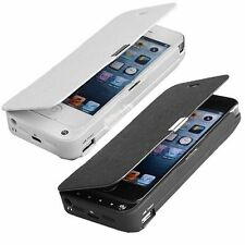 4200mAh External Portable Power Pack Backup Battery Charger Case For IPHONE 5 5S