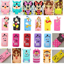 Hot 3D Cute Cartoon Girl Soft Silicone Cover Case For Samsung Galaxy S5 i9600
