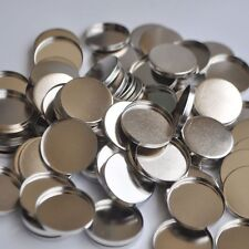 12 100pcs Empty Round Tin Pans for Powder Eyeshadow 26mm Responsive to Magnets
