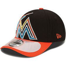 NEW ERA Men's Miami Marlins Clubhouse 39THIRTY Stretch Fit Cap