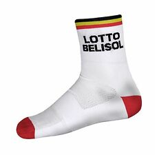 Team Lotto Belisol by Vermarc Pairs socks cycling