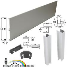 ALUMINIUM KITCHEN PLINTH PANEL - OPTIONAL ACCESSORIES - FREE 24H DELIVERY