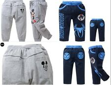 Kids Boys Girls Children's fashion casual pants Ages 2-8years