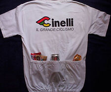 Cinelli Cycling Tee Shirt - *WITH 3 POCKETS* Bike T-Shirt
