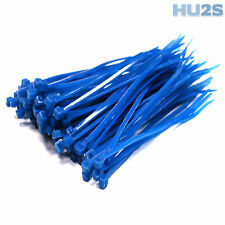 BLUE HIGH QUALITY PREMIUM CABLE TIES - Plastic Nylon Zip Tie Wraps In All Sizes