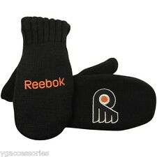NHL Philadelphia Flyers Reebok Black 2012 Winter Classic Oversize Mittens Gloves