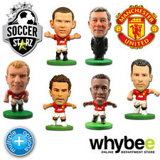MANCHESTER UNITED SOCCERSTARZ FOOTBALL FIGURES - OFFICIAL MERCHANDISE FIGURINES
