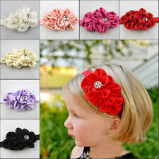 Baby Toddler Infant Flower Headband Hair Bow Band Accessories Gril Head Piece
