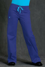 Med Couture Women's Drawstring Pant Scrub Bottoms - Fashion Colors