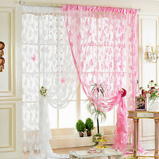 New Butterfly Style Tassel String Door Curtain Window Room Divider Curtain Scarf
