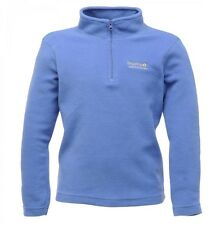 Regatta Hot Shot Kids Half Zip Overhead Micro Fleece Blueberry (RKA032) RRP £12