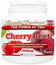 Cherry beet Capsules Natural Food State New Improved Formulation