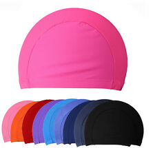 New Fashion Unisex  Sold Nylon Lycra Swim Caps Swimming Bathing Suit