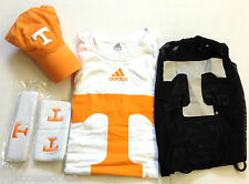 NCAA Tennessee Volunteers Adidas 5-Piece Fan Combo Pack Bag Hat Shirt Bands Cap