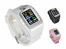 """N388 GSM Smart Watch Mobile Phone 1.4"""" HD Touch Screen Call SMS 1.3MP Camera"""