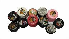 Officially Licensed NHL Chicago Blackhawks Limited Edition Hockey Pucks Choose