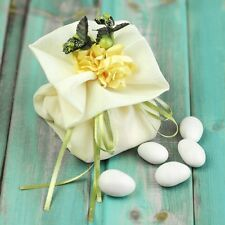 1 50 100pcs Wedding Party Favor Gift Candy Bags Boxes Ribbon Paper Flower Sheer