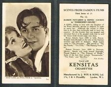 Wix - Scenes From Famous Films 3rd 1932 #1 to #25 Movie Cards (£1.50 each)