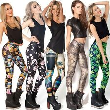 Hot Sexy Women Skinny Leggings Stretch Pencil Pants Galaxy  Stocking GT56