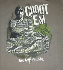 Choot'em Swamp People Adult Mens Tee T-Shirt by Ripple Junction