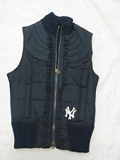 Touch Women's New York NY Yankees Wool/Polyester Vest Zip Up Jacket NEW